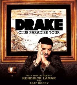 Club Paradise Tour Poster